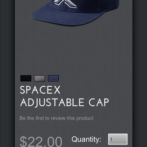 Accessories - Brand new spacex SnapBack